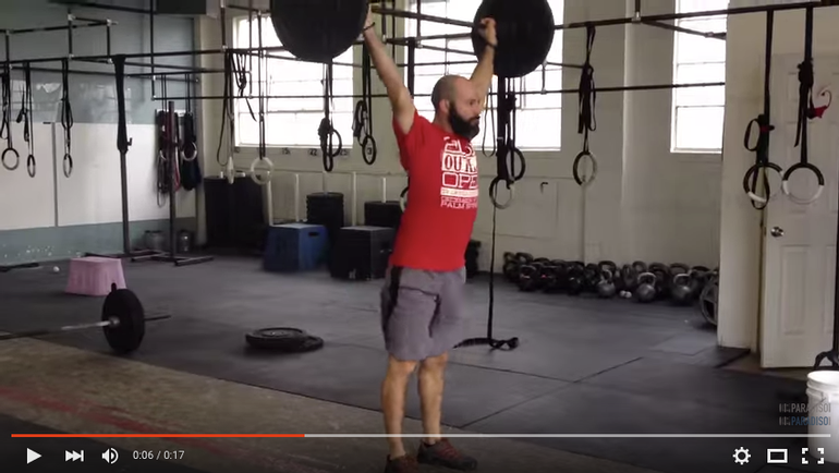 Ground to Overhead Barbell