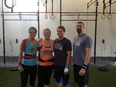 My First CrossFit Competition by Marie Irey