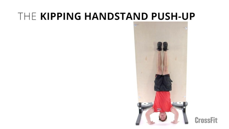 Kipping Handstand Push-Up