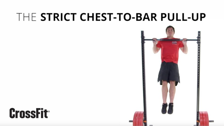 Strict Chest-to-Bar Pull-Up